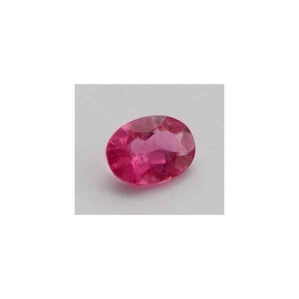 turmalina roz ovala