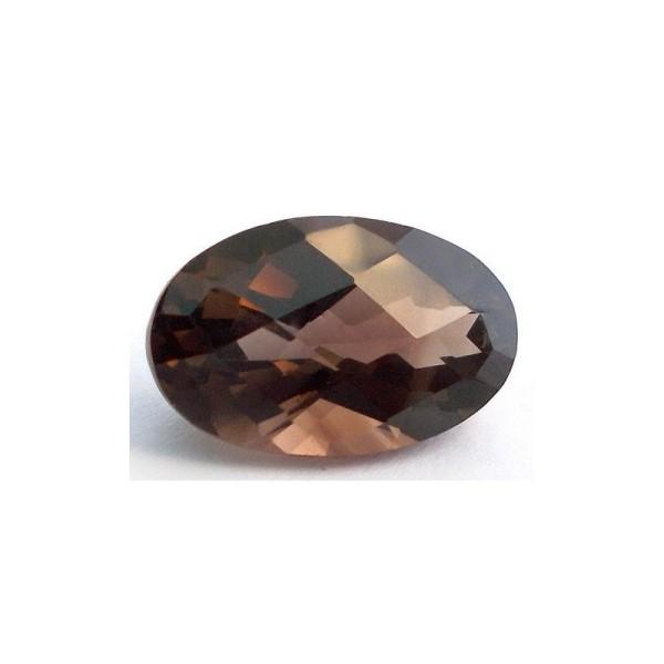 Smocky quartz oval