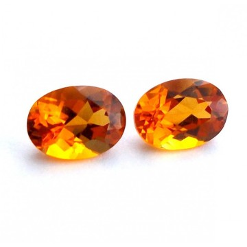 YELLOW ORANGE CITRINE LOT