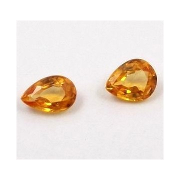 YELLOW SAPPHIRES LOT