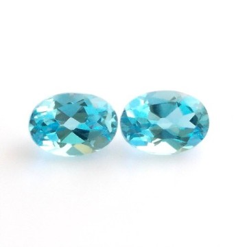 BLUE SWISS TOPAZ LOT