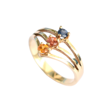 copy of SAPPHIRE GOLD RING